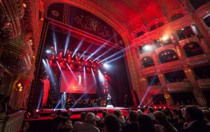 Odessa International Film Festival opening in opera house